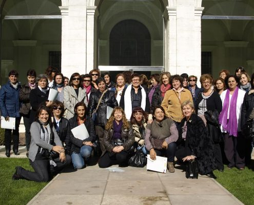 Encuentro de la Unión de Mujeres Agricultoras y Ganaderas en Valladolid en 2011. Imagen: La Unión de Uniones