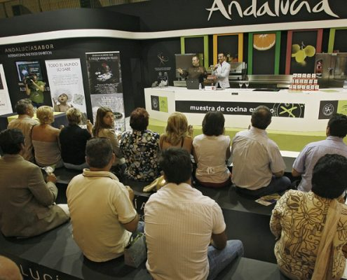 ANDALUCIA SABOR 2009 STANDS