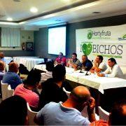 Imagen de la jornada sobre control biológico de plagas celebrada en El Ejido el 18 de septiembre de 2015 dentro de la campaña I Love Bichos de Hortyfruta. Imagen: Hortyfruta