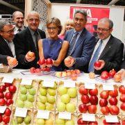 Inauguracion de la Fira Sant Miquel en Fira de Lleida con la ministra Tejerina en septiembre de 2015.