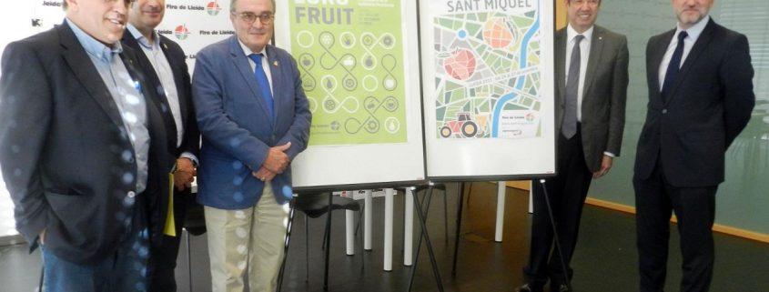 Presentación de la edición de 2015 de la Fira Agraria de Sant Miquel que se celebra en Fira de Lleida. Imagen: Fira de Lleida