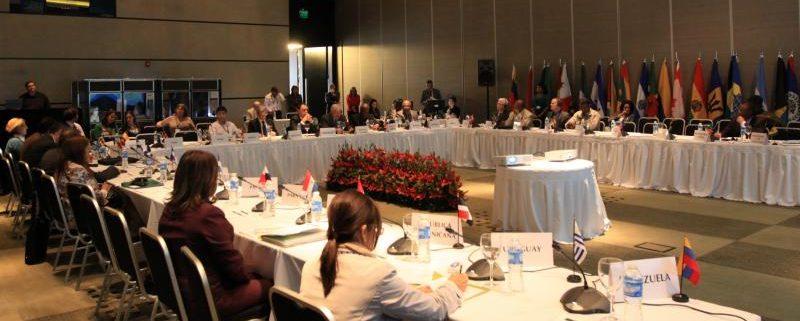 Imagen de la Junta Interamericana de Agricultura, conformada por los ministros de los 34 países miembros del IICA (Instituto Interamericano de Cooperación para la Agricultura). Imagen: IICA.