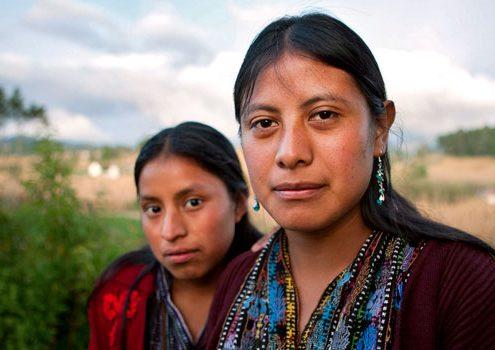 Mujeres rurales en Guatemala. Imagen: UN Trust Fund/Phil Borges