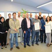 El Ciruelo, primera empresa murciana en conseguir la Certificación de Huella Hídrica y de Carbono. Foto: Bayer
