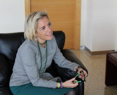 Adela Martínez-Cachá, consejera de Agricultura de Murcia. Imagen: Consejería de Agricultura de Murcia.