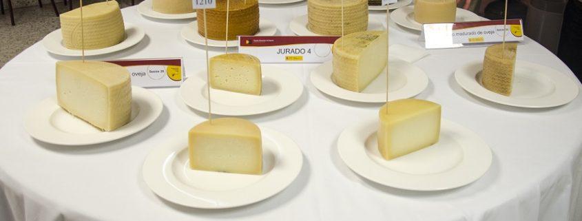 """Concurso para decidir el queso premiado en el concurso """"Alimentos de España al mejor Queso 2015"""". Imagen: Magrama"""