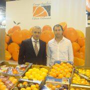 José E. Sanz, de la IGP de Cítricos Valencianos, y Francisco Dabike, accionista del Grupo Rueda. Imagen: IGP Cítricos Valencianos.