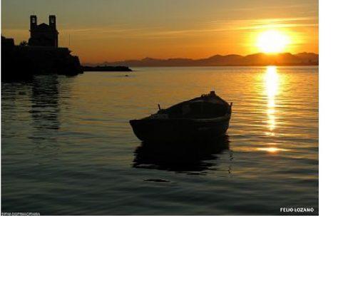 Embarcación en Tabarca. Foto: Magrama.