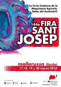 Cartell Fira Sant Josep Cast