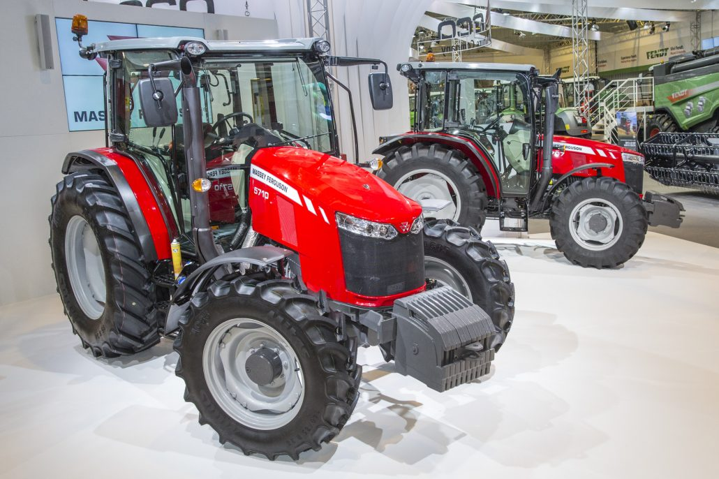 World Premiere Of New Mf 5700 Global Tractor Range At Fima