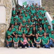 Foto conmemorativa de Green Corp