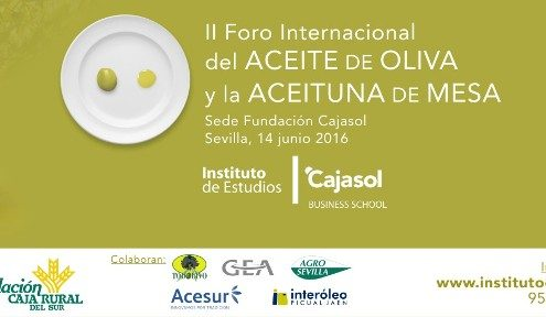 II Foro Internacional del Aceite de Oliva y la Aceituna de Mesa