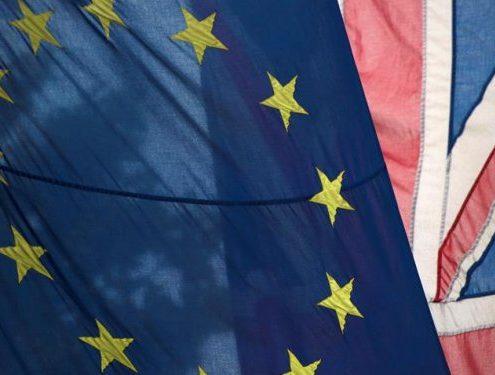 Banderas UE-UK
