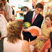Presentación Sandía Fashion en tienda Ágatha