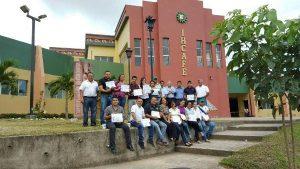 Graduados de la primera edición del curso de Agroturismo.