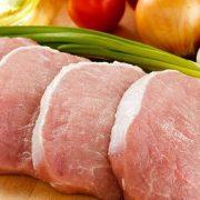 carne de cerdo blanco