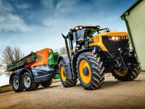 Tractor de la nueva serie 8000