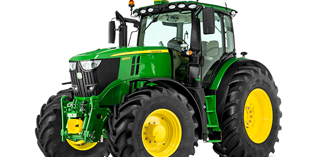 John Deere R Series Tractors : John deere innovates in its series of tractors r