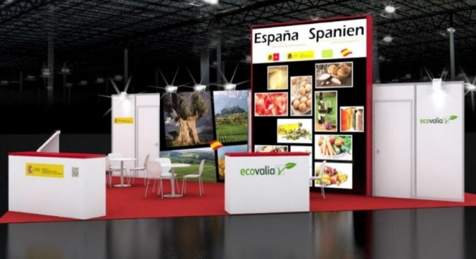 Exhibition Stand In Spanish : Spanish army the army collaborates in europe s largest
