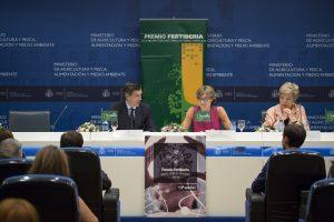 Acto de presentación del XIX Premio Fertiberia a la Mejor Tesis Doctoral en Temas Agrícolas.