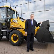 Lord Bamford outside JCB Headquarters, Rocester, Staffordshire. Credit: Anita Maric/newsteam