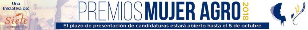 Banner Promo #mujerAGRO Premios 2018