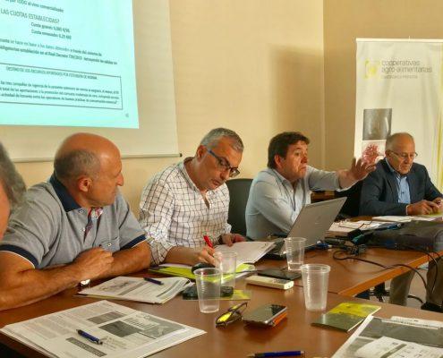 Comisión Sectorial de Vino Cooperativas Agro-alimentarias CLM