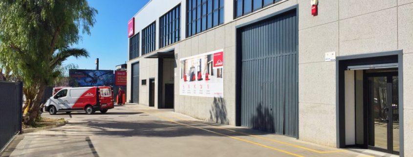 Instalaciones Delegación Linde Barcelona