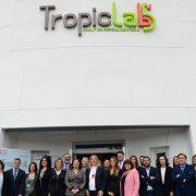 Inauguración TROPICLAB del Grupo La Caña