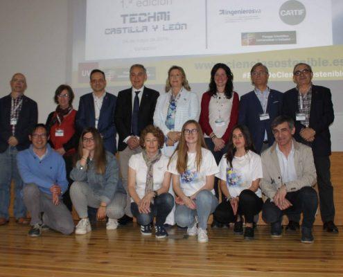 urado y equipos finalistas TechMI CyL