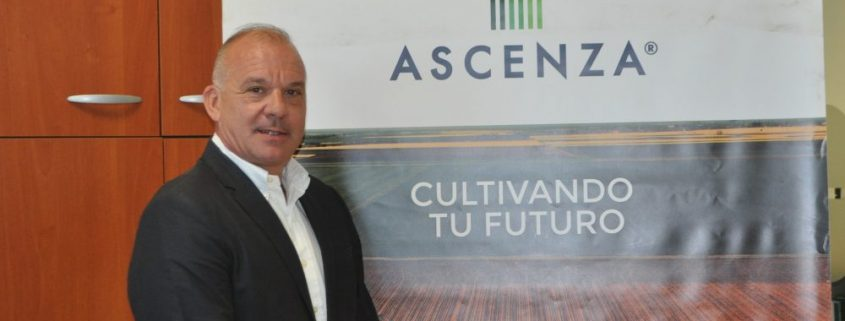 Benjamín Santarrufina, Director Comercial y de Marketing de ASCENZA