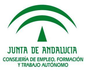 Logo de la Consejería de Empreo, Formación y Trabajo autónomo de la Junta de Andalucía