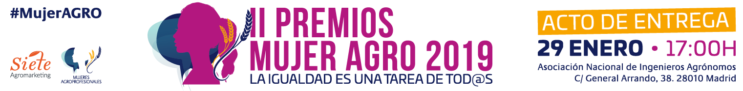 Entrega II Premios Mujer Agro 2019 Medio Home